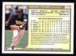 1999 Topps #352  Miguel Tejada  Back Thumbnail