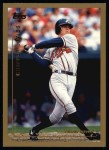 1999 Topps #355  Chipper Jones  Front Thumbnail