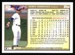 1999 Topps #357  Henry Rodriguez  Back Thumbnail