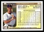1999 Topps #361  Luis Gonzalez  Back Thumbnail
