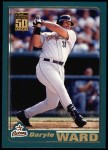 2001 Topps #6  Daryle Ward  Front Thumbnail