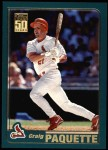 2001 Topps #8  Craig Paquette  Front Thumbnail