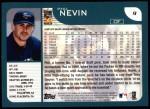 2001 Topps #9  Phil Nevin  Back Thumbnail