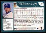 2001 Topps #19  Dustin Hermanson  Back Thumbnail