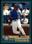 2001 Topps #53  Eric Young  Front Thumbnail