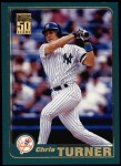 2001 Topps #94  Chris Turner  Front Thumbnail