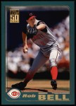 2001 Topps #97  Rob Bell  Front Thumbnail