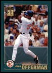 2001 Topps #102  Jose Offerman  Front Thumbnail
