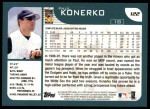2001 Topps #122  Paul Konerko  Back Thumbnail