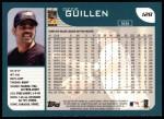2001 Topps #128  Ozzie Guillen  Back Thumbnail