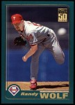 2001 Topps #131  Randy Wolf  Front Thumbnail