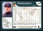 2001 Topps #169  Pete Harnisch  Back Thumbnail