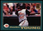 2001 Topps #198  Dmitri Young  Front Thumbnail
