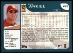 2001 Topps #275  Rick Ankiel  Back Thumbnail
