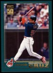 2001 Topps #298  Jacob Cruz  Front Thumbnail