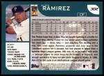 2001 Topps #302  Alex Ramirez  Back Thumbnail