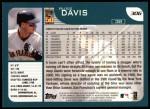 2001 Topps #306  Russ Davis  Back Thumbnail