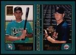 2001 Topps #352  Adrian Gonzalez / Adam Johnson  Front Thumbnail