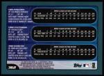 2001 Topps #362  Chin-Feng Chen / Corey Patterson / Josh Hamilton  Back Thumbnail