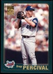 2001 Topps #419  Troy Percival  Front Thumbnail