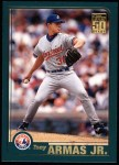 2001 Topps #438  Tony Armas Jr.  Front Thumbnail