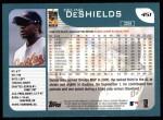 2001 Topps #451  Delino DeShields  Back Thumbnail