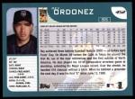 2001 Topps #452  Rey Ordonez  Back Thumbnail