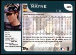2001 Topps #461  Brent Mayne  Back Thumbnail