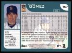 2001 Topps #463  Chris Gomez  Back Thumbnail
