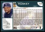 2001 Topps #535  Butch Huskey  Back Thumbnail
