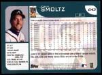 2001 Topps #643  John Smoltz  Back Thumbnail