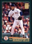 2001 Topps #701  Tim Wakefield  Front Thumbnail