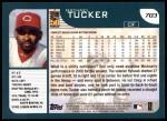 2001 Topps #703  Michael Tucker  Back Thumbnail