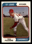 1974 Topps #417  Rich Folkers  Front Thumbnail