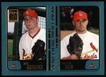 2001 Topps #739  Josh Axelson / Carmen Cali  Front Thumbnail