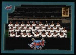 2001 Topps #752   Los Angeles Angels Team Front Thumbnail