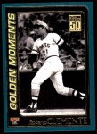 2001 Topps #784  Roberto Clemente  Front Thumbnail