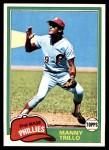 1981 Topps #470  Manny Trillo  Front Thumbnail