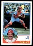 1983 Topps #175  Bo Diaz  Front Thumbnail
