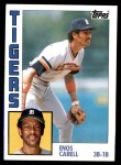 1984 Topps #482  Enos Cabell  Front Thumbnail
