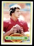 1980 Topps #475  Joe Theismann  Front Thumbnail