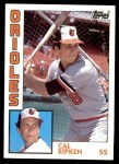 1984 Topps #490  Cal Ripken Jr.  Front Thumbnail