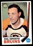 1969 Topps #30  Phil Esposito  Front Thumbnail