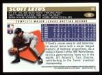 1996 Topps #78  Scott Leius  Back Thumbnail