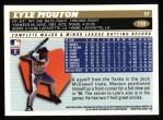 1996 Topps #119  Lyle Mouton  Back Thumbnail