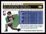1996 Topps #208  Brad Ausmus  Back Thumbnail