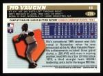 1996 Topps #274  Mo Vaughn  Back Thumbnail