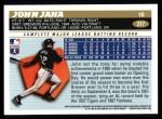 1996 Topps #317  John Jaha  Back Thumbnail