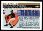 1996 Topps #335  Cal Eldred  Back Thumbnail