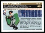 1996 Topps #422  Jeff Conine  Back Thumbnail